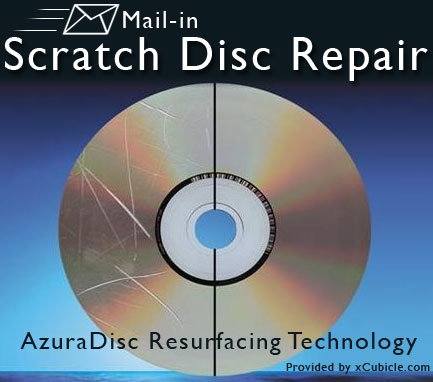 Scratched Disc Data Recovery Repair Cd Dvd Bluray + Illinois